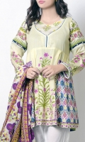 Floral printed shirt including printed border and sleeves. ideal for summer.
