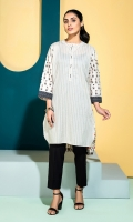 Printed Stitched Super Fine Lawn Shirt with Mask - 1PC