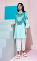Sateen Printed Stitched Super Fine Lawn Shirt - 1PC