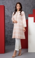 Yarn Dyed Stitched Embroidered Shirt - 1PC