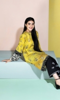 Embroidered Stitched Super Fine Lawn Shirt - 1PC