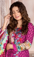 Three Pcs Khaddar Suit Embroidered Neck Lines & Wool Shawl
