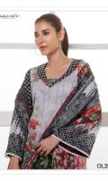 Fabric: Lawn Shirt. Lawn Dupatta Design: Printed