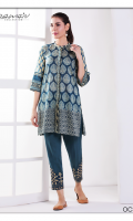 Fabric: Lawn Shirt. Cambric Shalwar Design: Embroidered