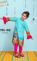 100% digital Printed Lawn with embellishments