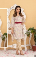 • Printed Lawn Shirts, with • Printed Lawn Dupattas, • & Printed Trousers.