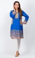 - Digital printed kurti  - Straight cut kurta  - Round neckline with V cut  - Full Straight sleeves  - Round cut Daman