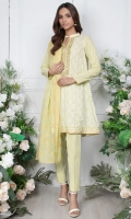 - 2.5mtr Lawn Pearl Printed Shirt (Wider Width)  - 2.5mtr Jacquard Dupatta  - 1.5mtr Cambric Pants (Wider Width)  - Embroidered Shirt