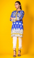 100% Lawn ready to wear digital printed shirt High colar v-neck, straight shirt and straight full sleeves
