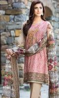 Shirt (3M) - 100% Viscose  Dupatta (2.5M) - Cambric Cotton  Lower (2M) - Cambric Cotton  Embroidery- Neckline
