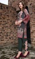 Digital Shirt (2.3 M) - 100% PIMA Cotton  Trouser (2 M) - 100% Cotton  Embroidery Motif