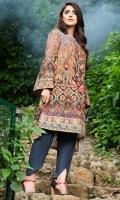 Shirt (3M) - Luxe Khaddar  Embroidery - Sleeve Patti + Border Patti