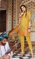 Shirt (2.3M) - 100% PIMA Cotton  Dopatta (2.5M) - 100% Silk  Lower (2M) - 100% Cotton  Embroidery - Panel