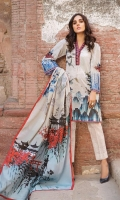 Shirt (1.2M) - 100% PIMA Cotton  Dopatta (2.5 M) - 100% PIMA Cotton  Embroidery - Border + Motif  Lower (2M) - 100% Cotton
