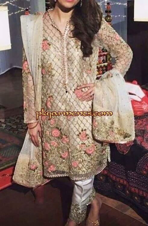 92b75a038c Partywear Dresses January 2016   Pakistani Clothes & Fashion Dresses ...