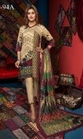 Digital Printed Cotail Shirt 3M Digital Printed Wool Shawl 2.5M Cotail Dyed Trouser 2.5M