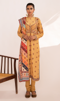 Embroidered Front Embroidered Front Bodice Block Printed Back Embroidered Sleeves Embroidered Lace for Front, Back, and Sleeves Digital Printed Shawl Plain Trouser