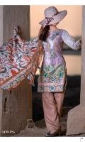 3 Meters Viscose Embroidered Shirt  2.5 Meters Chiffon Dupatta  2.5 Meters Viscose Trouser