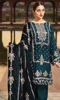 Embroidered Cottel Linen Unstitched 3 Piece Suit