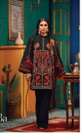Embroidered Khaddar Front  Printed Khaddar back & sleeves  100% Pure Wool Shawl  Dyed Khaddar Trouser
