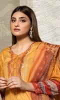 Shirt: Digital printed sui Dhaga Lawn Duppatta: Digital Printed organza  Trouser: Premium Dyed