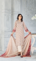 Shirt: Luxury Digitally Printed Chikan Kari Front with Digital printed back And sleeves  Dupatta: Premium Digitally Printed Lawn  Trouser: High Quality Dyed