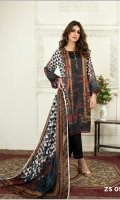 Digital Printed Charmeuse Silk Shirt Digital Printed Charmeuse Silk Dupatta