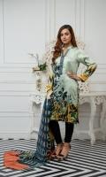 Shirt: - Digital Printed Charmeuse Silk Dupatta / Shawl: - Digital Printed Silk