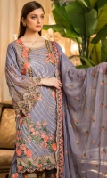 3pc embroidered swiss voil suit