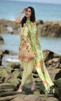 Printed 3 Piece Lawn Suit