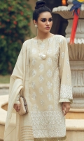 Embroidered Chikankari Front Embroidered Chikankari Back Embroidered Chikankari Sleeves Dyed Cotton Pants Jacquard Dupatta