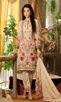 EMBROIDERY SWISS LAWN SHIRT EMBROIDERY SHEFOON DUP EMBROIDERY TROUSER