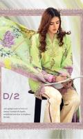 Digital Printed Front, Back & Sleeves Embroidered Laser Cut Front & Sleeves Foil Printed Pure Medium Silk Dupatta Digital Printed Trouser