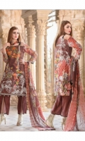 3 pc embroidered lawn suit