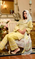 Lawn Embroidered Front  Printed Back & Sleeves  Digital Print And Chikan Kari Dupatta  Dyed Trouser