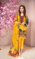 Digital Printed Karandi Shirt  Dyed Karandi Trouser  Digital Printed Karandi Dupatta