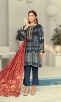 Karandi Jacquard Shirt Karandi Dyed Trouser Karandi Jacquard Dupatta