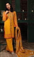 Shirt 3 Mtr (Embroidered Front) Dupatta 2.5 Yard Trouser 2.5 Mtr