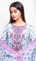 03 pcs unstitched printed Lawn suits Printed Lawn Shirt Printed Lawn Dupatta Dyed Trouser