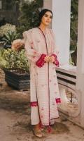 Pure Handloomed zari organza Kameez  Pure handloomed zari organza Dupatta  Premium Cambric Shalwar  Lawn slip