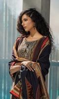 Digital Khadder Shirt 3 Mtr (Embroidered Front ) Digital Khaddar Dupatta 2.5 Mtr Khaddar Plain Trouser 2.5 Mtr