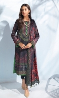Shirt: Digital printed lawn Shirt Dupatta: Digital printed lawn Dupatta.  Trouser: Dyed Cambric Trouser