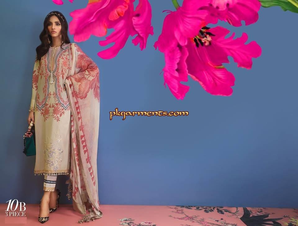 b0033c0999 Sana Safinaz Muzlin Lawn Volume II 2019 | Pakistani Clothes ...
