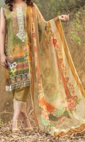 Embroidered Viscose Shirt 3 Meter Chiffon Dupatta 2.5 Meter Trouser 2.5 Meter