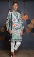 Embroidered Lawn Unstitched Kurti
