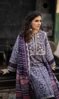 Shirt Yarn Dyed Jacquard Shirt 3m Embroidered Neckline Panels 2PC Embroidered Patti 2PC Color: Blue Fabric: Yarn Dyed Jacquard  Trouser Dyed Cotton Trouser 2.5m Color: Blue Fabric: Cotton  Dupatta Yarn Dyed Jacquard Dupatta 2.5m Color: Multi Fabric: Yarn Dyed Jacquard