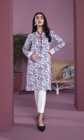 Printed & Embroidered Front, Printed & Embroidered Back, Full Sleeves, Y Neckline
