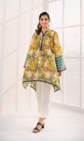 Shirt Printed Cotton Shirt 3 m Color: Yellow Fabric: Cotton