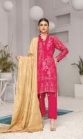 Three Piece Linen Broshia Banars Suit