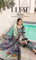 Embroidered Khaddar Shirt Printed Pashmina Shawl Dyed Trouser